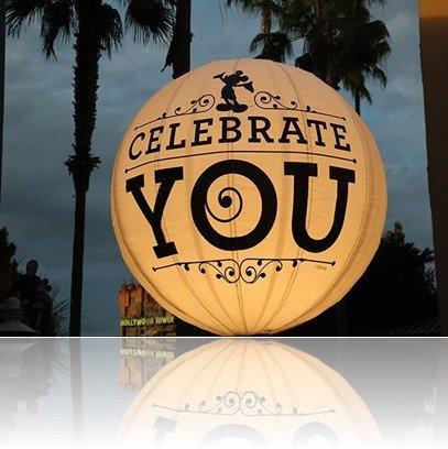 """""""Celebrate you!"""" - MouseMingle.com"""