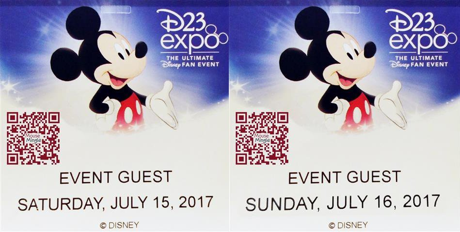 MouseMingle's D23 Expo Tickets | MouseMingle.com