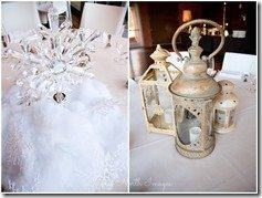 Disney inspired wedding with Frozen and Peter Pan centerpieces, photography by Degress North Images | MouseMingle.com