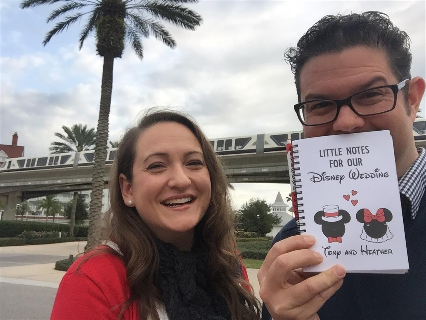 Little Notes for our Disney Wedding | MouseMingle.com