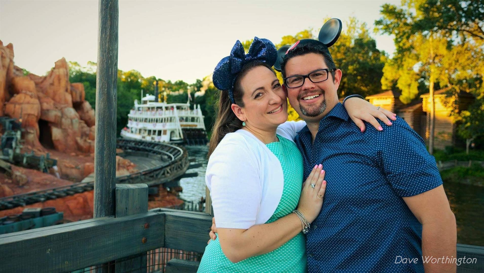 Heather and Tony | MouseMingle.com