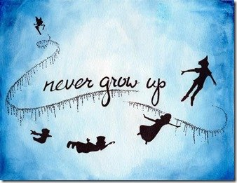 Never Grow Up | MouseMingle.com