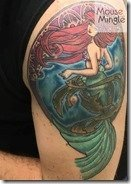 Little Mermaid tattoo - MouseMingle.com