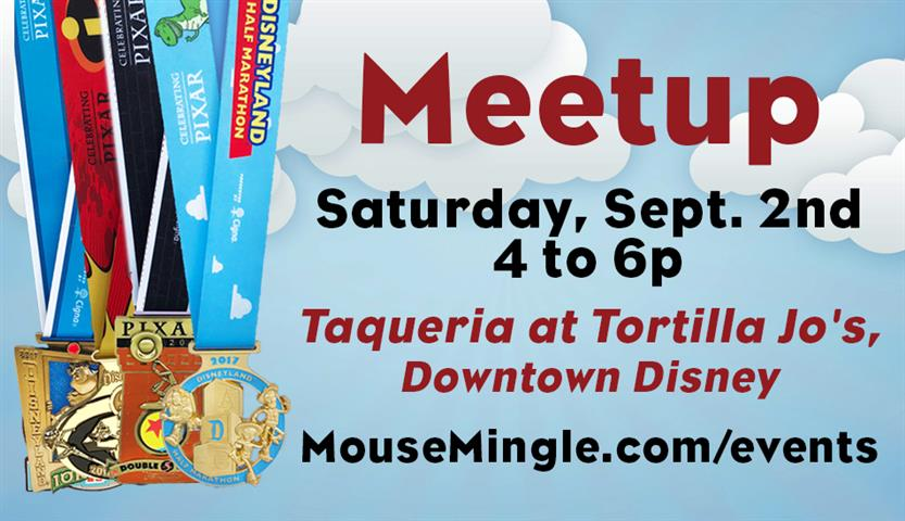 September MouseMingle Meetup