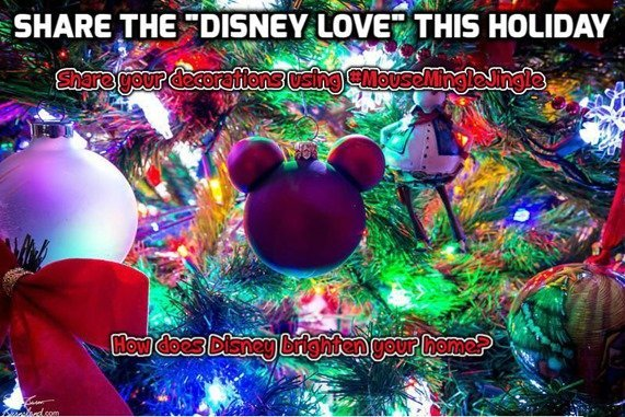 Disney Holiday Decorations Contest!