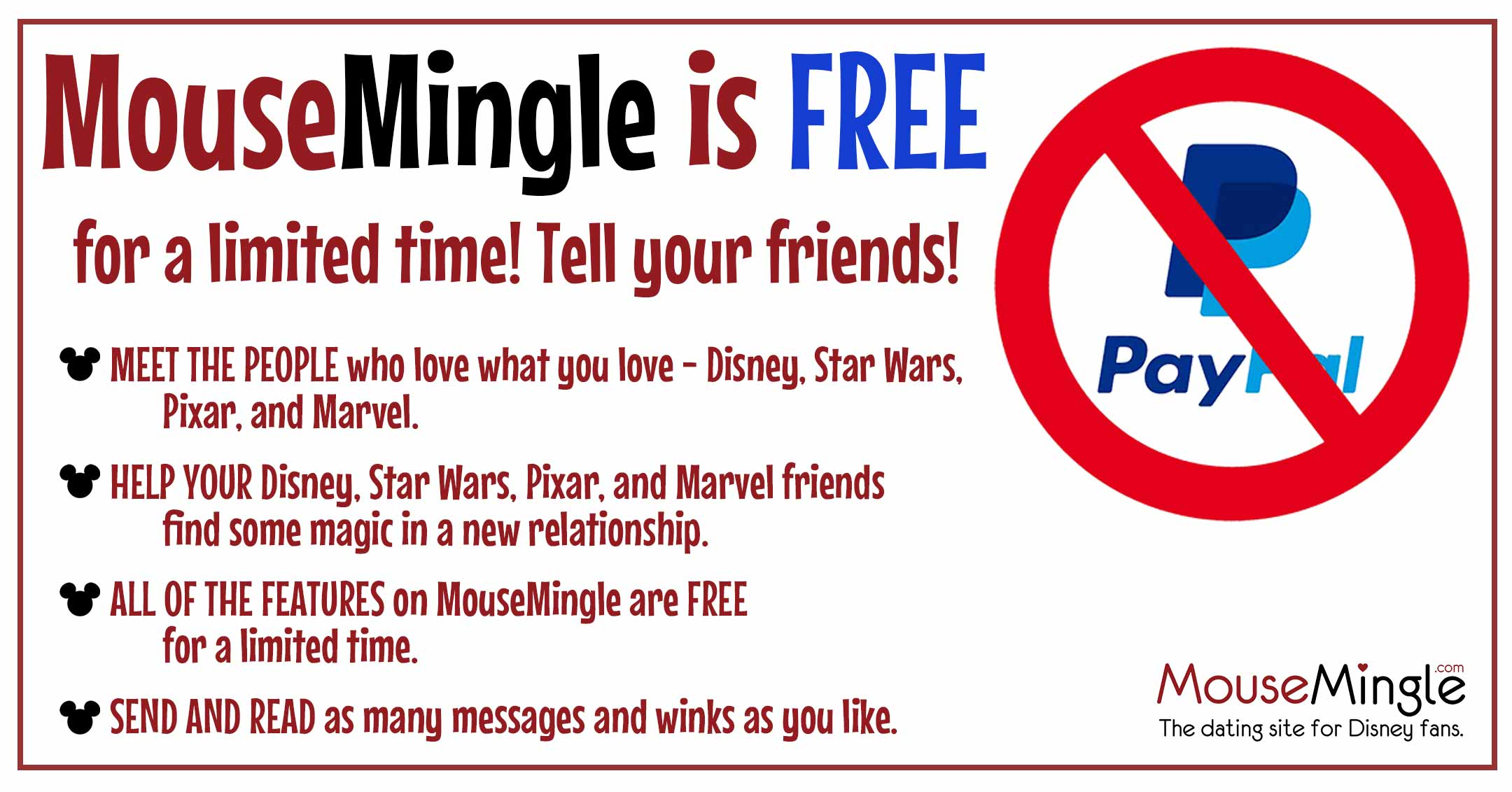 MouseMingle is Free for A Limited Time!
