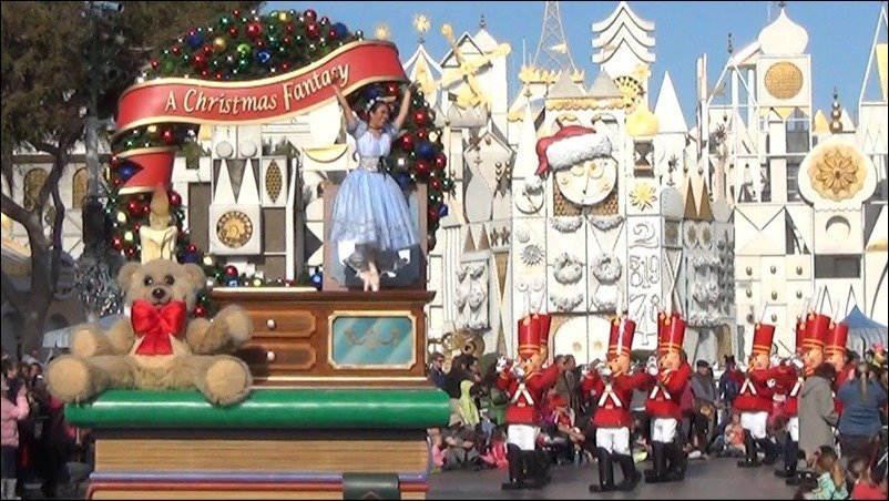 "it's a small world"" Holiday & A Christmas Fantasy Parade 