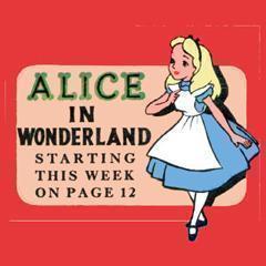 Vintage Disney Alice in Wonderland